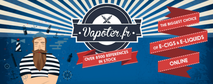 Vapoter.fr: French Electronic Cigarette Online Shop You Don't Want to Miss